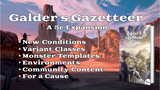 Galder's Gazetteer: A 5e Expansion thumbnail