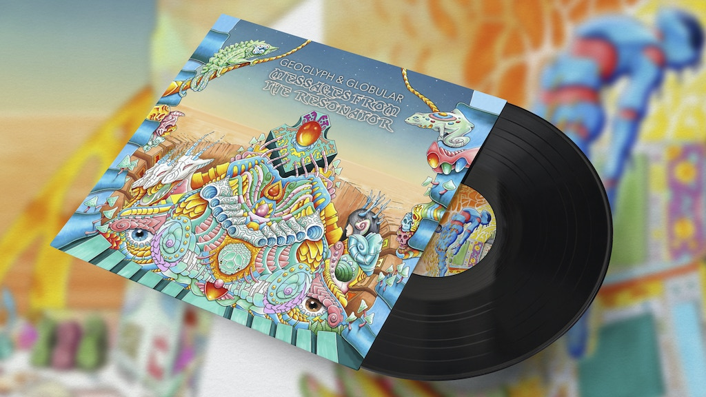 Globular & Geoglyph: a new collab album, straight to vinyl. project video thumbnail