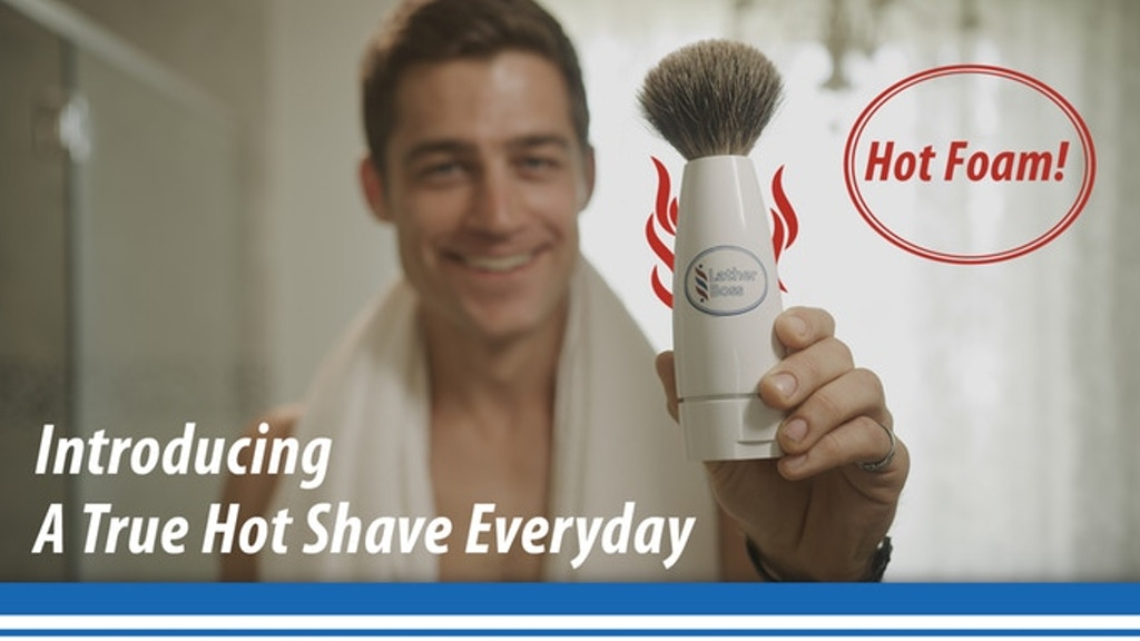 Project image for Lather Boss™ Self Foaming HOT LATHER Shave Brush (Canceled)