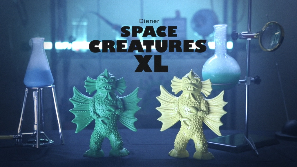 Diener Space Creatures XL project video thumbnail
