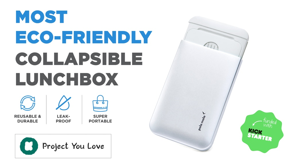 MolaBox: Most Eco-Friendly Collapsible Lunchbox | Shapeshift project video thumbnail