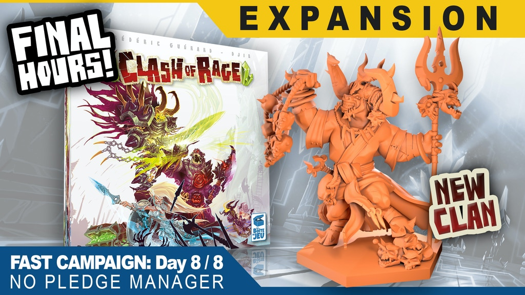 Clash of Rage, 2nd printing project video thumbnail
