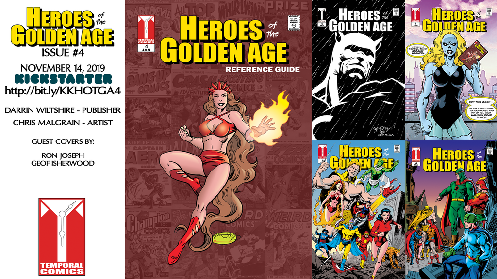 HEROES of the GOLDEN AGE #4 project video thumbnail