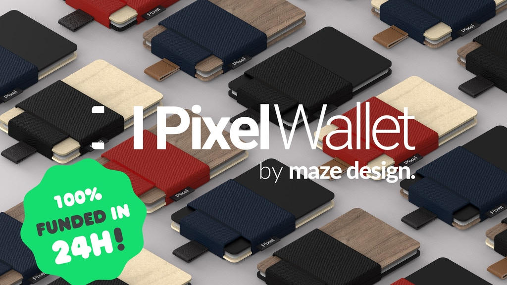 Pixel Wallet: 100% customizable minimalist wallet project video thumbnail