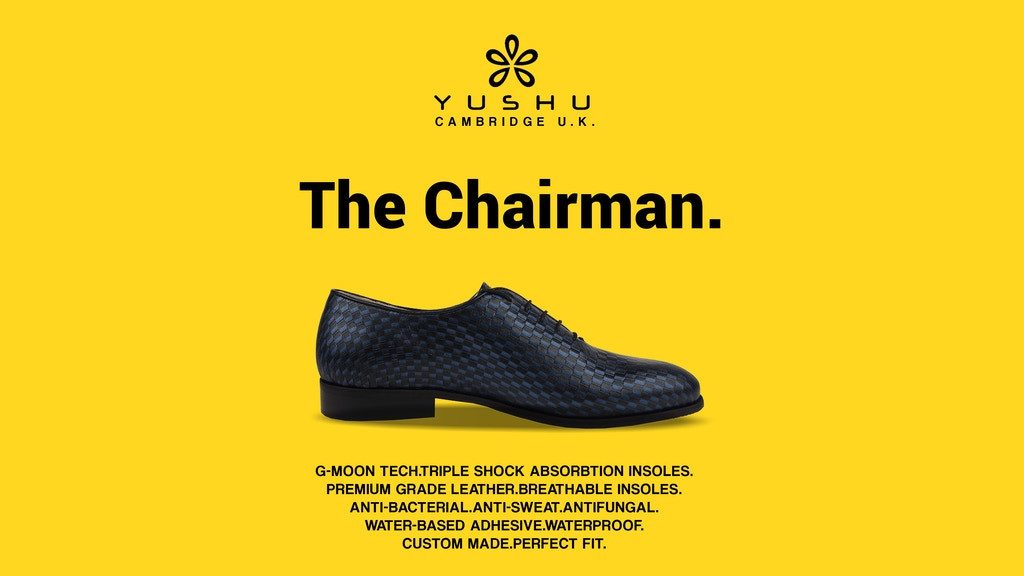 The Chairman: The unparalleled shoe comfortable as a sneaker