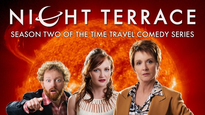 An award-winning audio comedy, as heard on BBC radio! Jackie Woodburne (Neighbours) stars as Anastasia Black, a retired science adventurer whose house randomly travels through time and space.