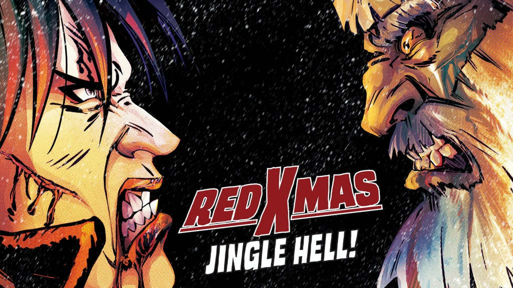 RED XMAS 1-4 Horror/comedy Christmas comic for adults project video thumbnail