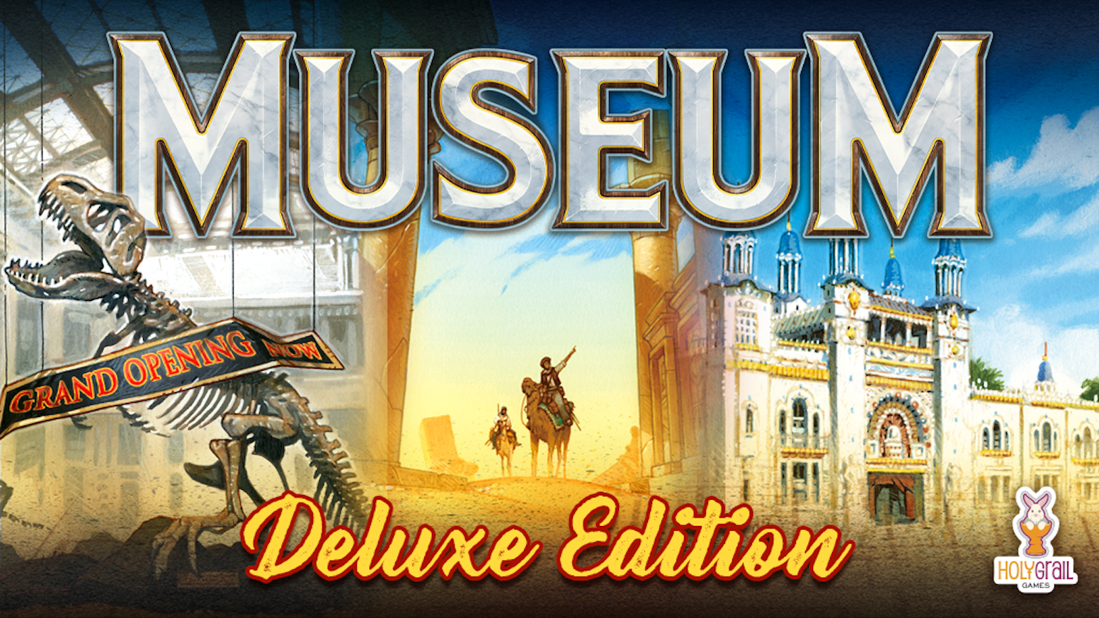 Museum, the beautiful set collection game, is back on Kickstarter with a Deluxe box, new expansion, update pack and more!