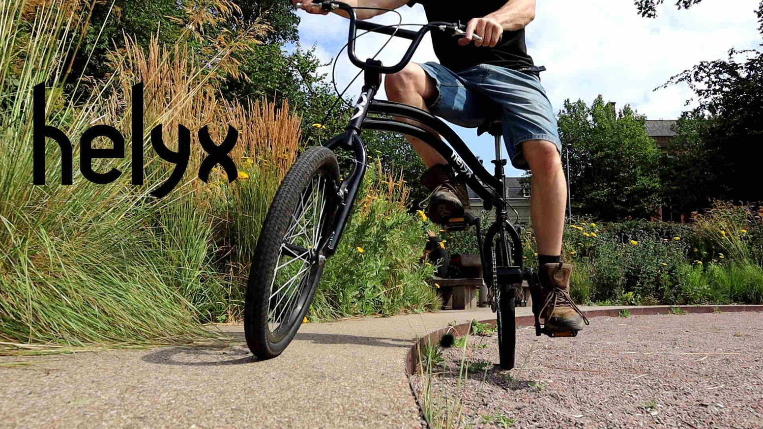 Helyx Bike - Add a new dimension to your ride