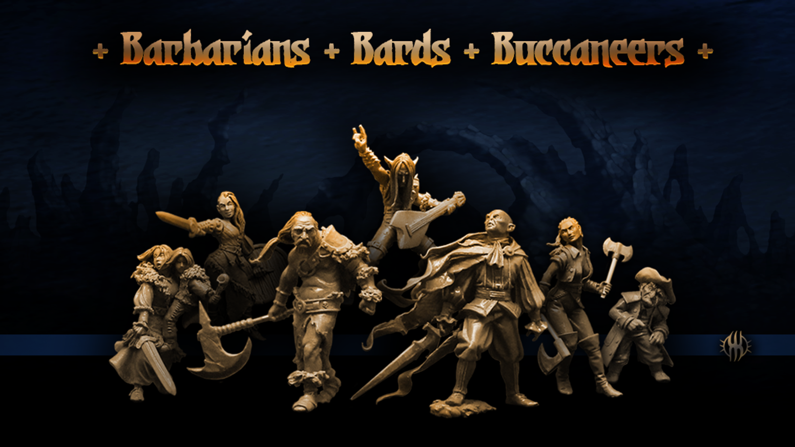 Heroic 32mm Resin Tabletop Miniatures for Collectors and Gamers.