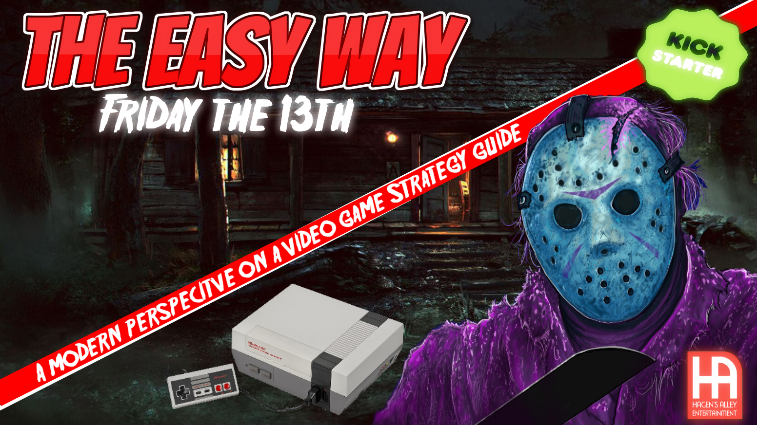 "An Unofficial Friday the 13th NES Strategy Guide so you can master the game ""The Easy Way""."