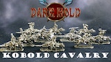 Dark Hold Kobold 28mm Scale Cavalry Miniatures for RPGs thumbnail