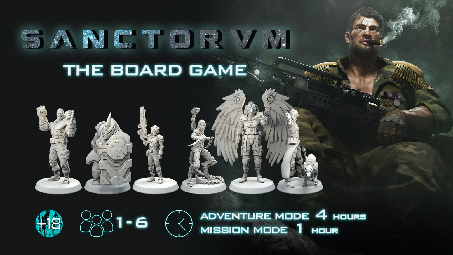 A cooperative game of sci-fi survival horror for 1-6 players. Fight and take decisions to survive!