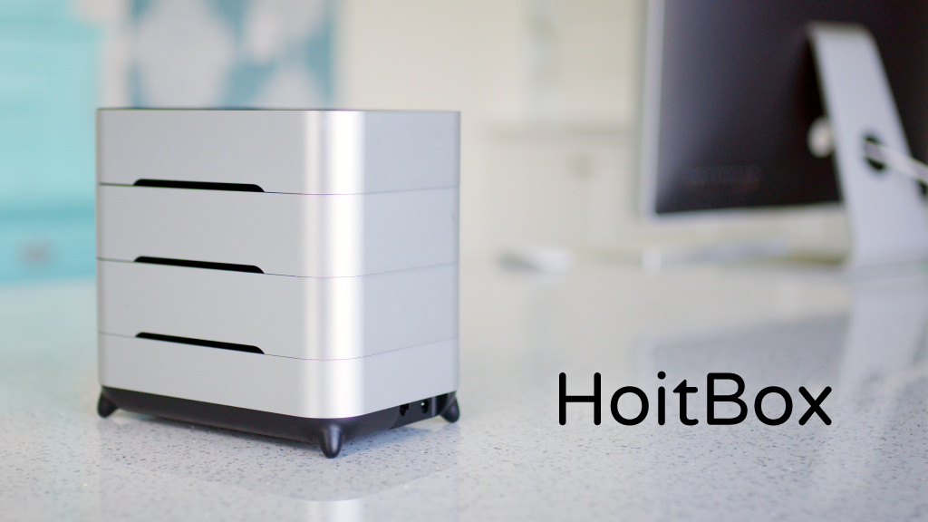 The HoitBox helps you cut iCloud fees by being your own personal secure home-based server!
