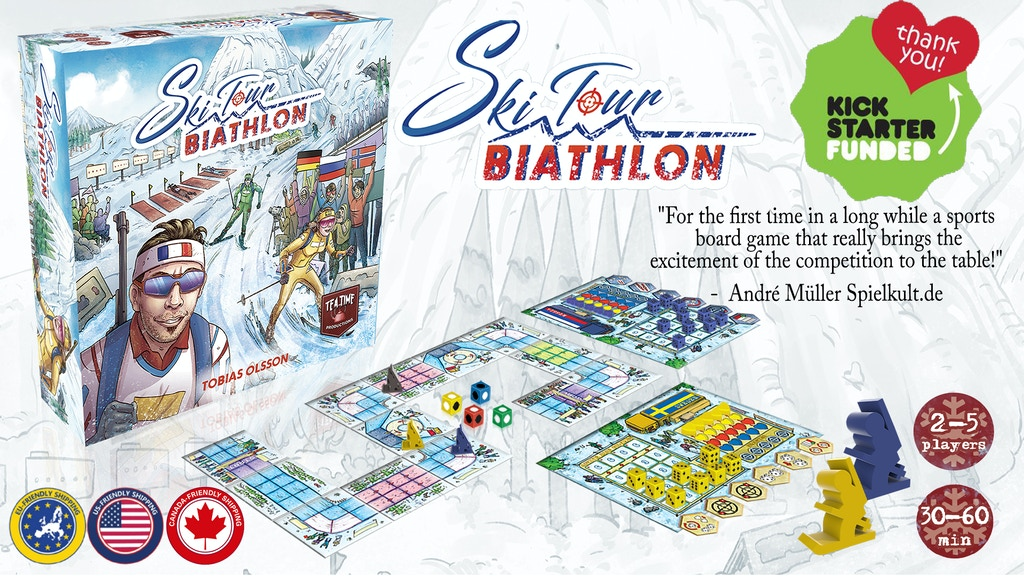 Ski Tour: Biathlon project video thumbnail