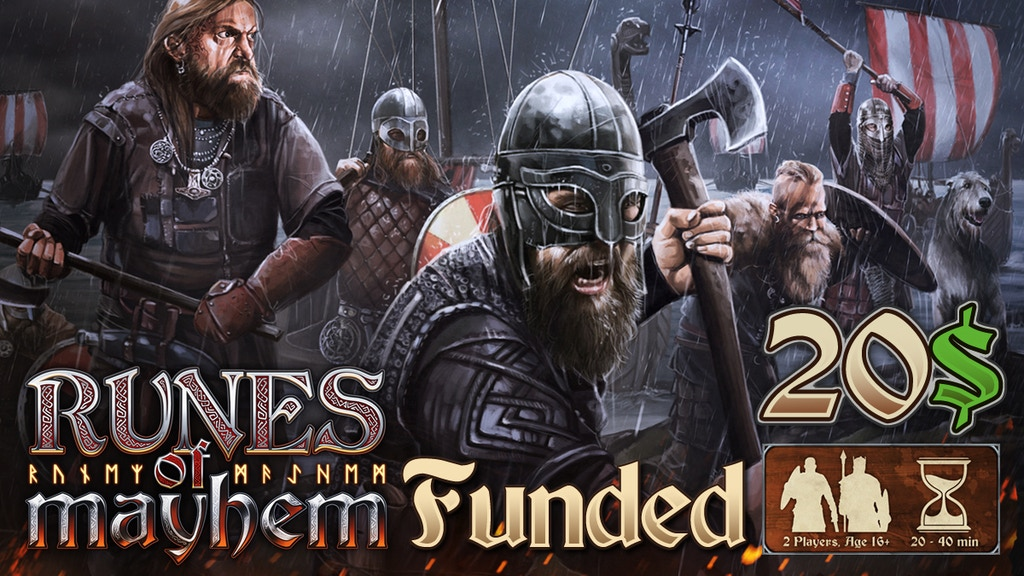 Runes of Mayhem - The Tactical Viking Game: Relaunch project video thumbnail