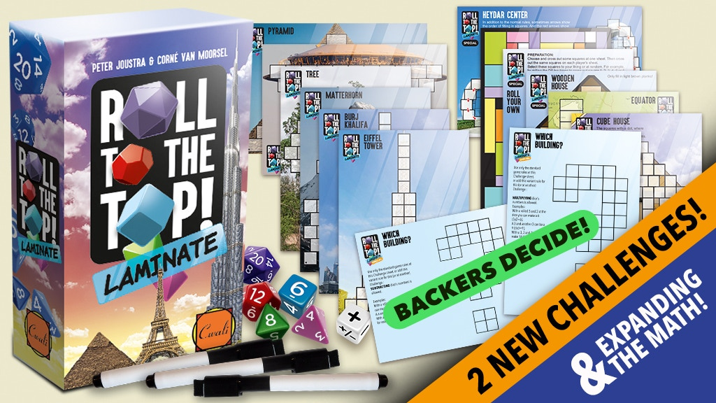 *ROLL TO THE TOP* reprint & challenges & expanding the math! project video thumbnail