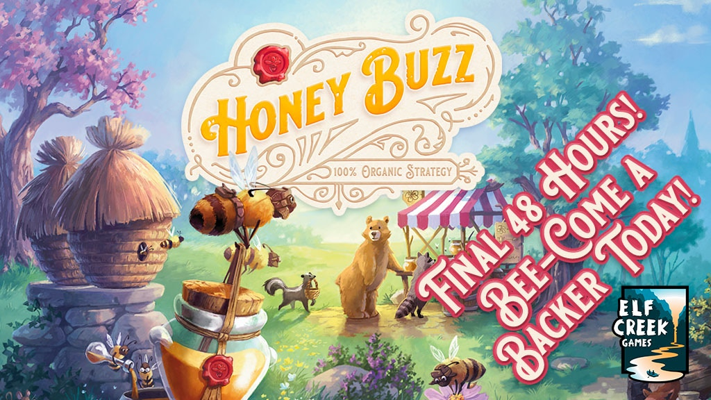 Honey Buzz — The Worker Bee Placement Game project video thumbnail