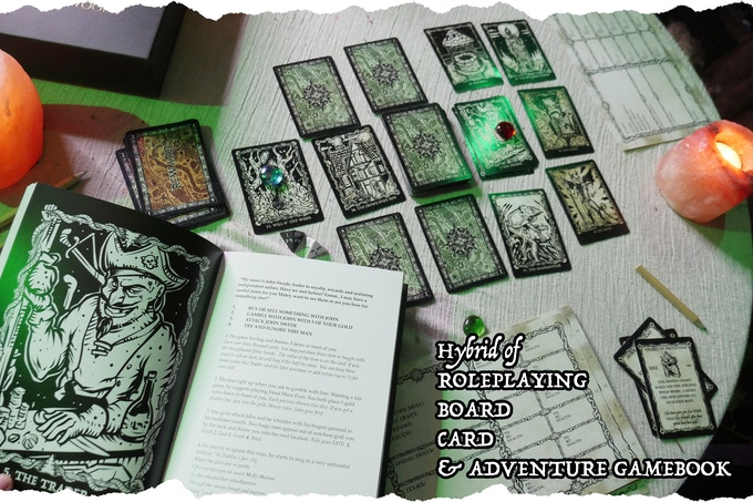 The StoryMaster's Tales Deeper into the Woods Hybrid RPG