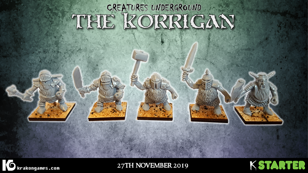 Project image for Korrigan - 28mm chaos dwarfs and gnomes