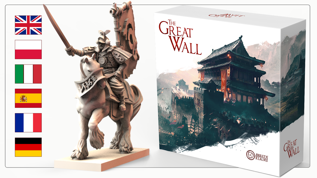 Great Wall Board Game project video thumbnail
