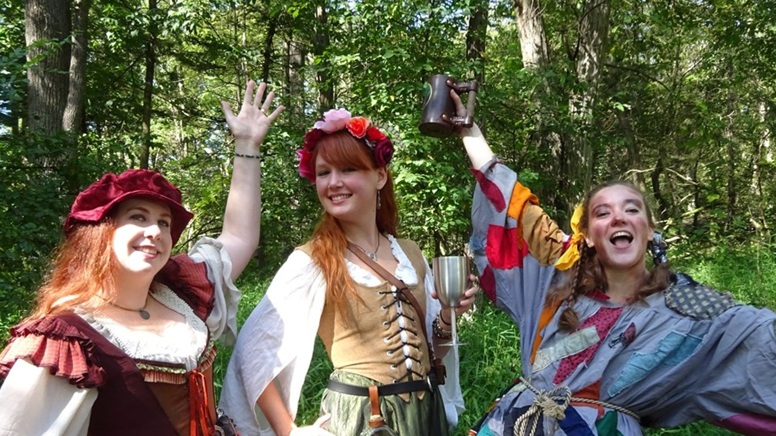 Renaissance-faire based folk trio, Bardy Pardy, is GOING to record our debut CD!