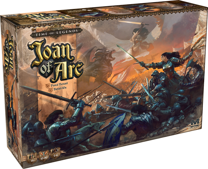 Time Of Legends Joan Of Arc By Mythic Games Inc Kickstarter