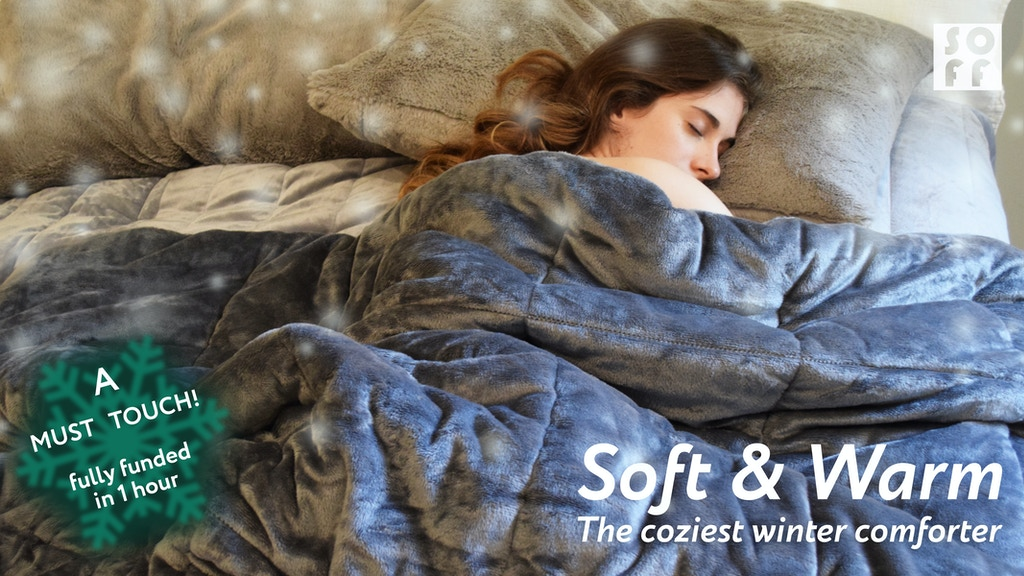 SOFF Winter Comforter | Coziest Comforter you've ever had. project video thumbnail