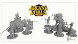 Arcane Rivals: Wild Wars 32mm miniatures thumbnail