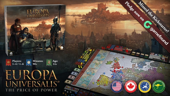 A 4X game of Epic Empire Building in the Late Medieval and Early Modern Age.