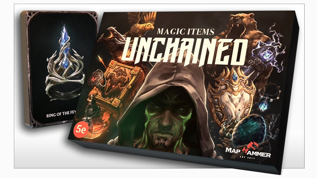 Magic Items Unchained project video thumbnail