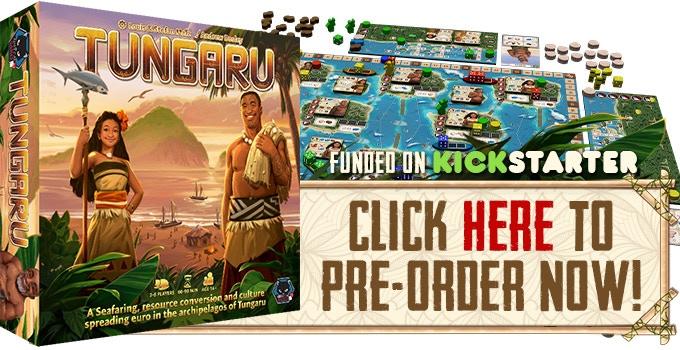 Tungaru A Euro Game Designed By Louis Stefan Malz By