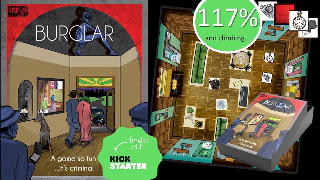 Burglar - a game so fun it's criminal project video thumbnail