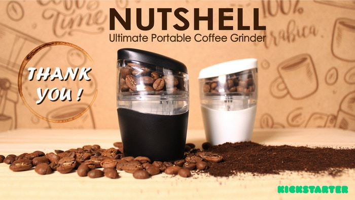 Enjoy your freshly ground coffee - whenever and wherever.  Designed by DripDrop.Cafe