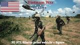 3D Vietnam War - US Army thumbnail