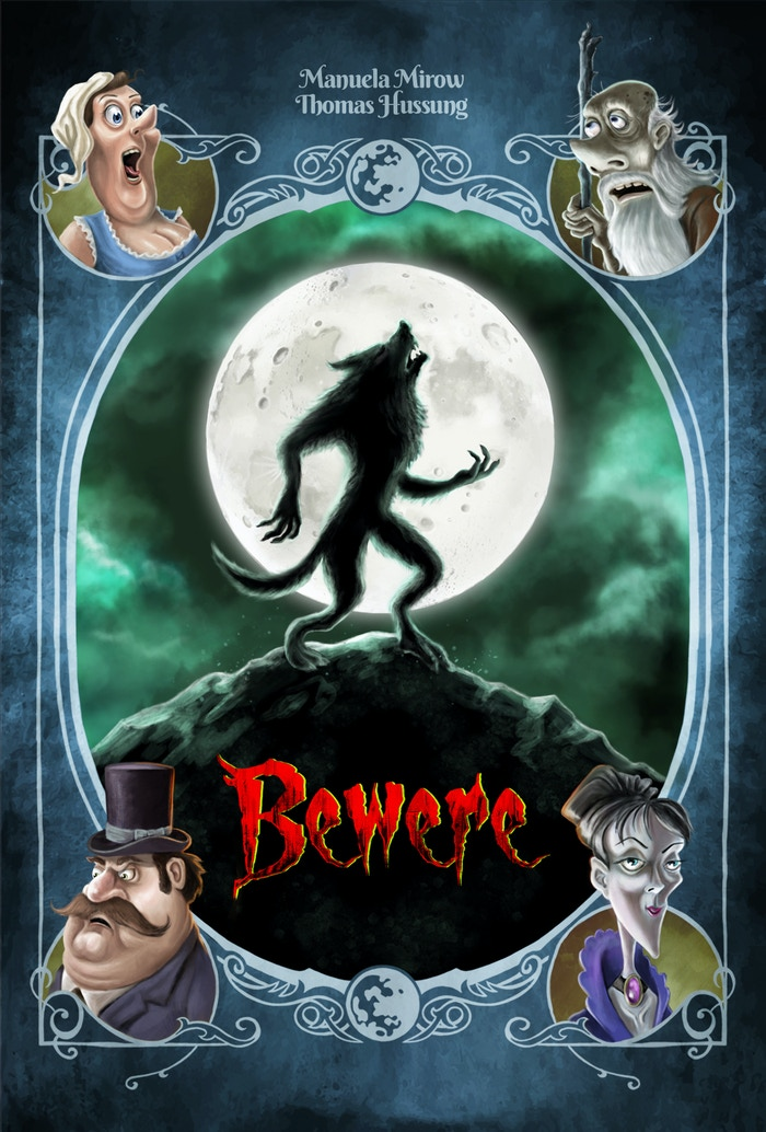 This is a card game for people who always wanted to be a werewolf and transform a village into their pack.