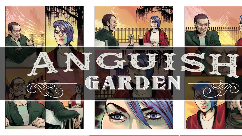 Anguish Garden: The Graphic Novel project video thumbnail