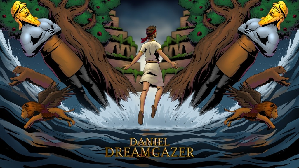 Daniel Dreamgazer - Book 1 (illustrated Bible Story) project video thumbnail