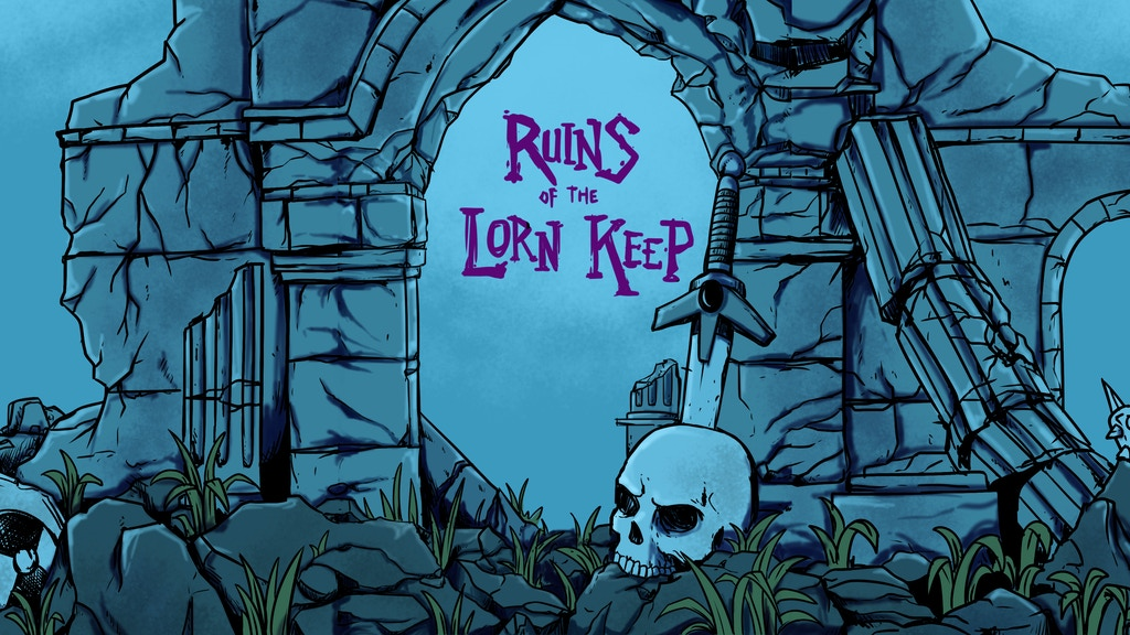 Ruins of the Lorn Keep Card Game project video thumbnail