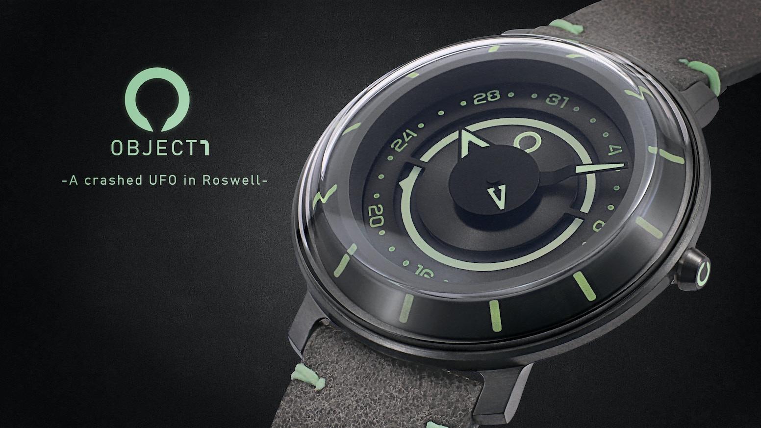An automatic UFO watch
