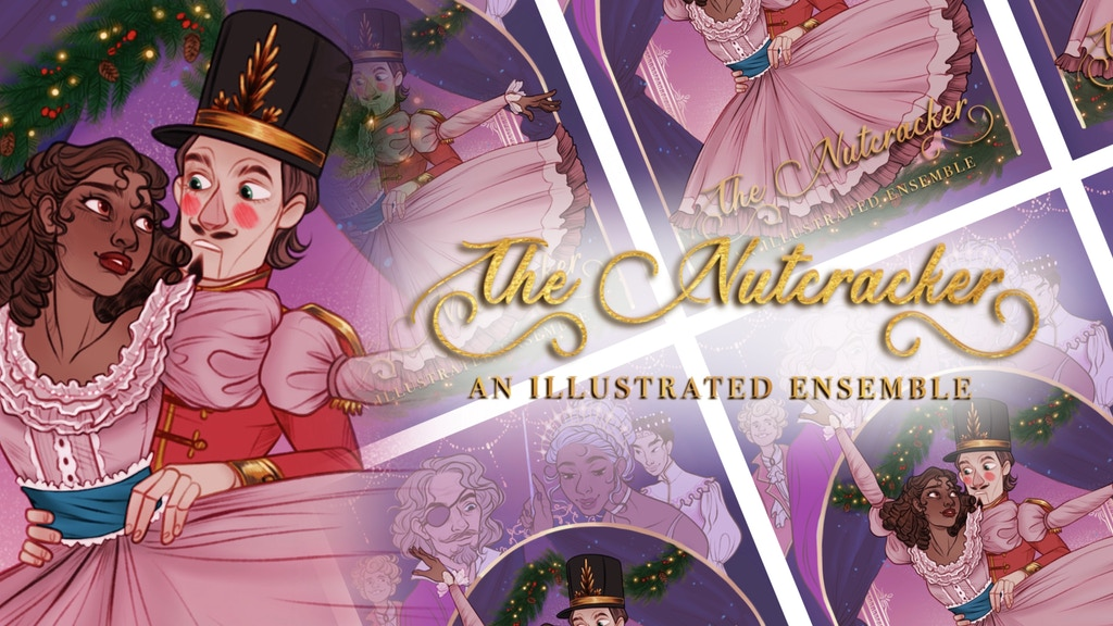Project image for The Nutcracker Zine: An Illustrated Ensemble
