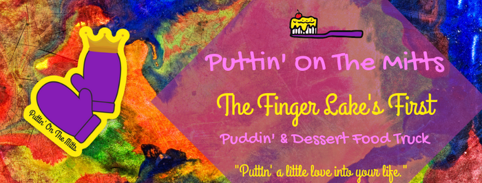 Welcome to the journey of Puttin' On The Mitts!  We are the Finger Lake's first and only Plastic-Free & Sustainable Dessert Food Truck!