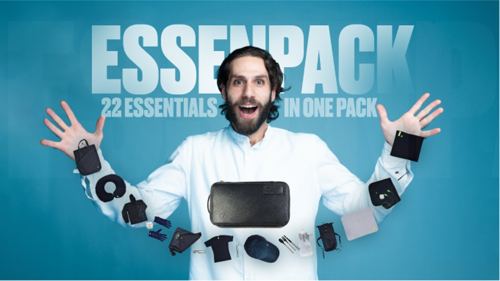 EssenPack - #1 Travel Kit With 22 Essentials for Travelers project video thumbnail