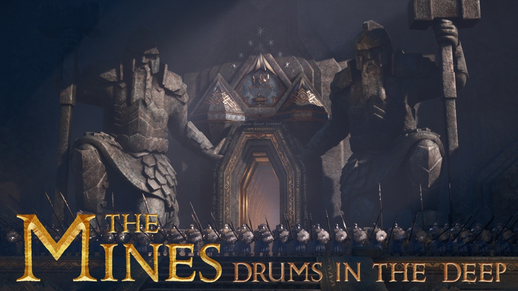The Mines: Drums in the deep (STL files for miniatures) project video thumbnail