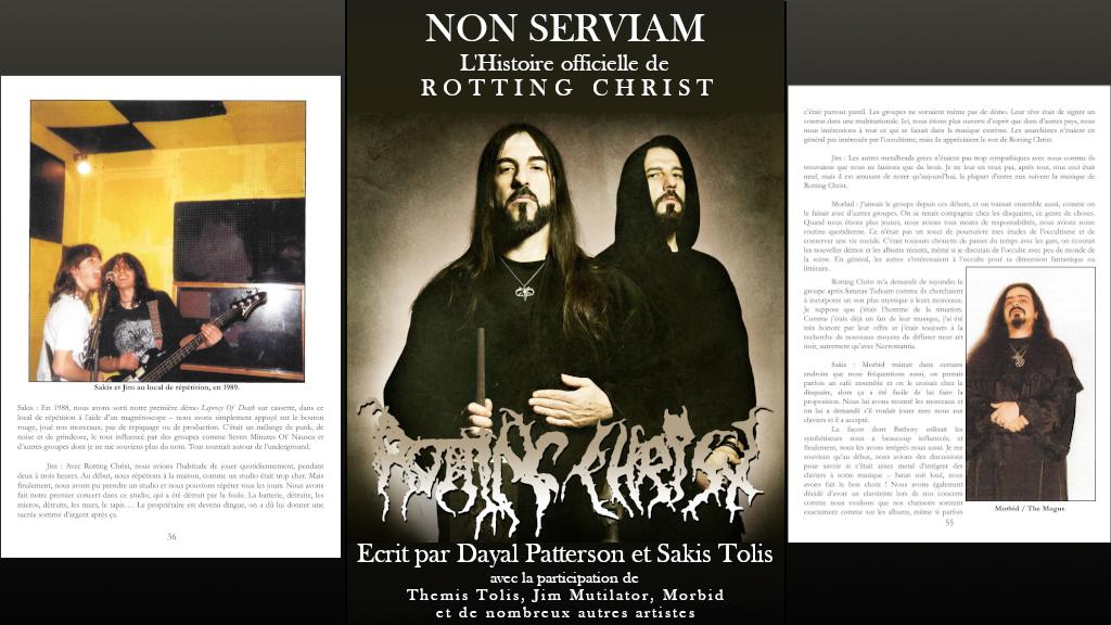 Project image for Non Serviam, l'histoire officielle de Rotting Christ