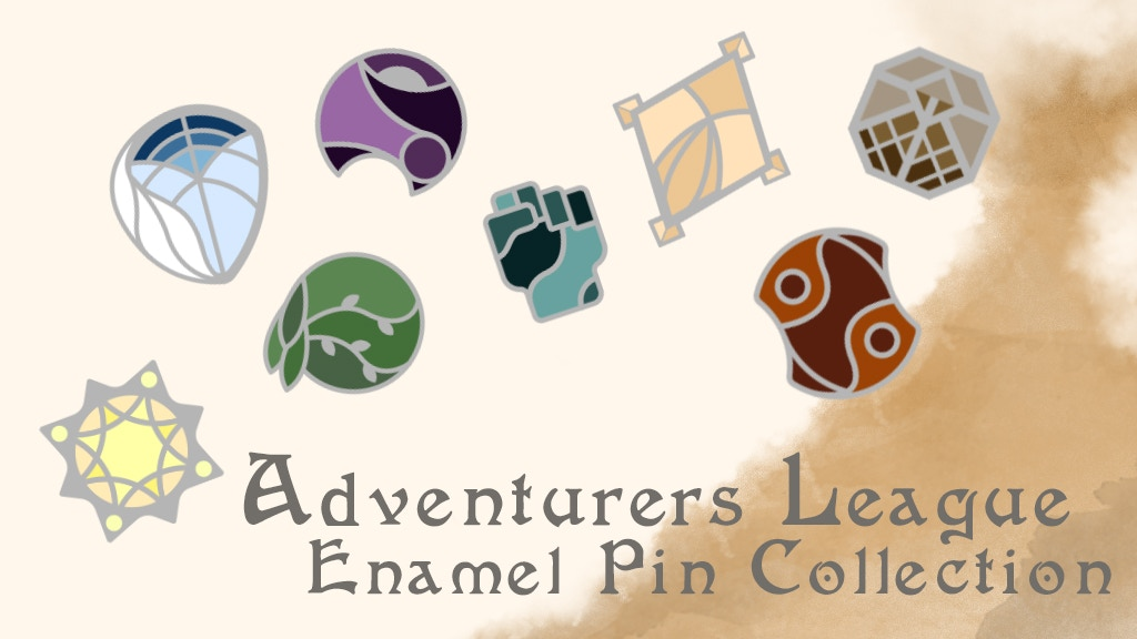 Project image for Adventurers League Enamel Pin Collection