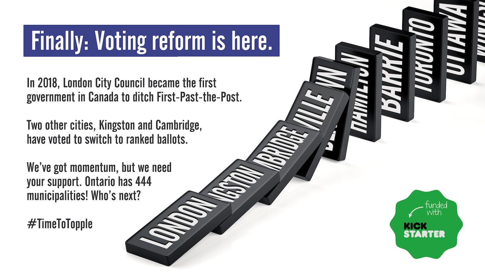 A roadmap to reclaim Ontario's city halls.