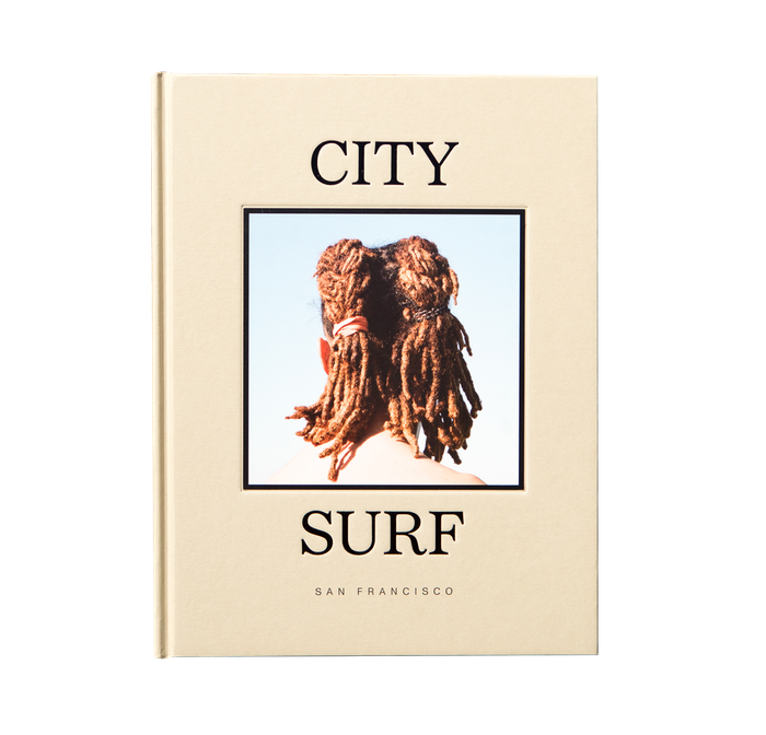 A 208 page hardcover coffee table book about San Francisco and the city surfers who live there. Photography by Nathan Lawrence.