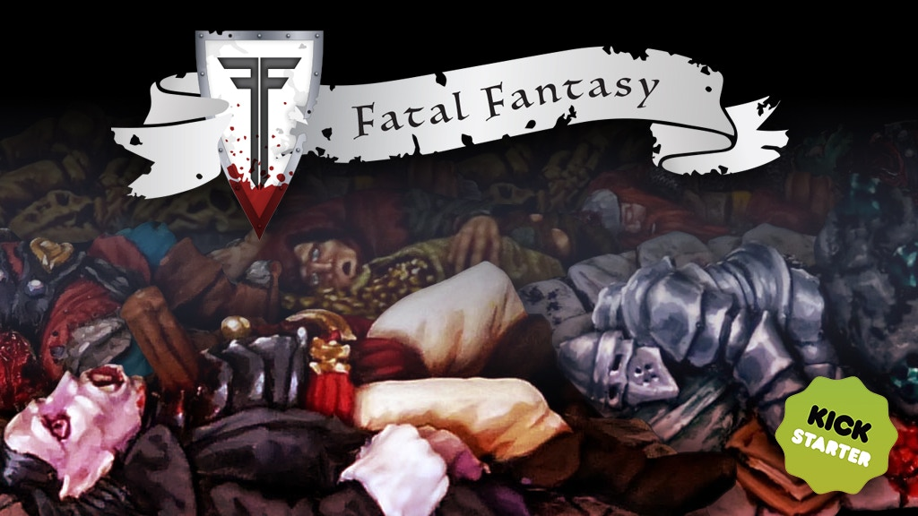 Project image for FATAL FANTASY Casualty Miniatures for Tabletop wargaming.