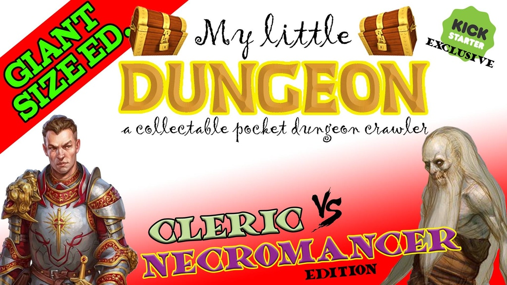 MY LITTLE DUNGEON: Cleric Vs Necromancer (GIANT SIZE edit.!) project video thumbnail